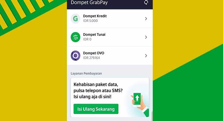 Jenis Dompet di Aplikasi Grab Driver