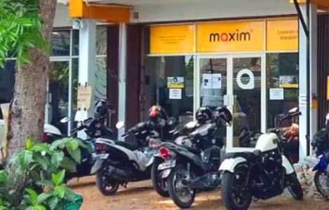 Pendaftaran Driver Maxim Offline