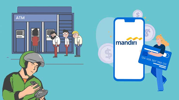 Cara Top Up Gojek Driver Mandiri