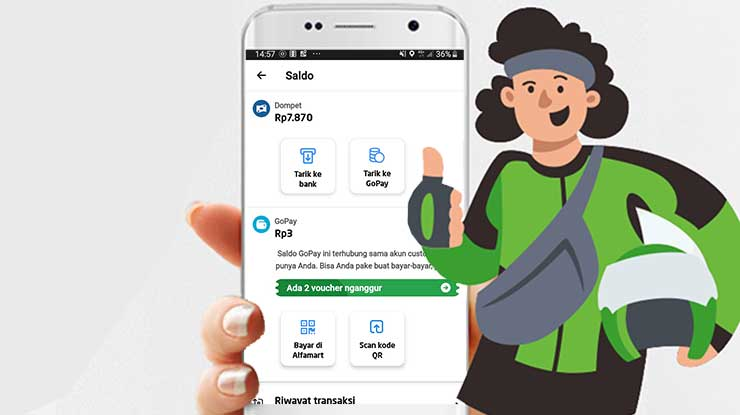 Top Up Gojek Driver