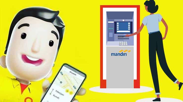 Cara Isi Saldo Maxim via ATM Mandiri