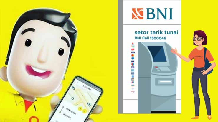 Top Up Maxim Lewat ATM BNI
