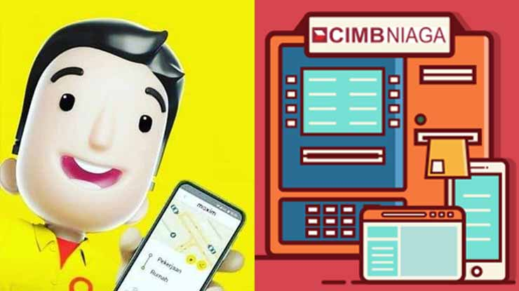 Top Up Maxim Lewat ATM CIMB Niaga