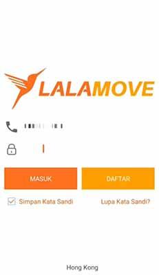 Cara Daftar Kurir Lalamove
