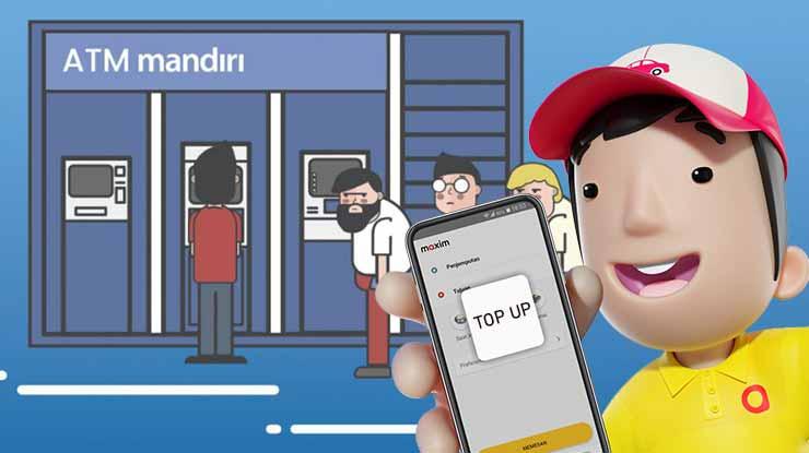 Cara Mengisi Saldo Maxim via ATM Mandiri