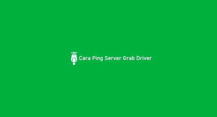 Cara Ping Server Grab Driver
