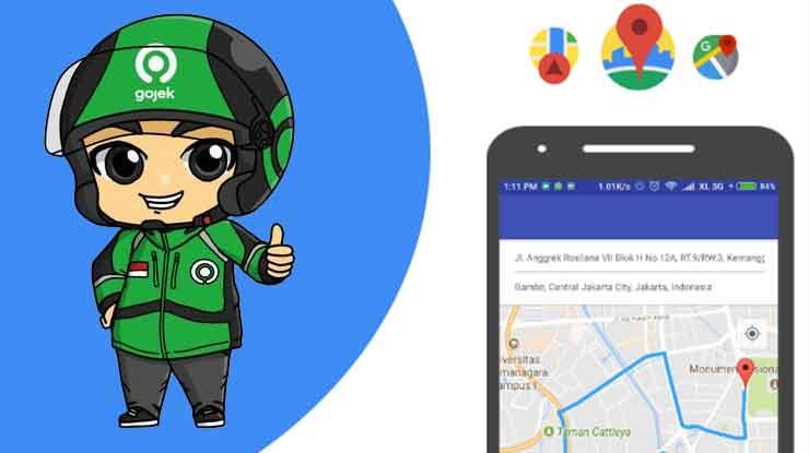 Cara Setting Google Maps untuk Gojek