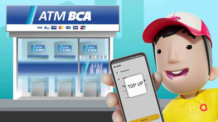 Cara Top Up Maxim Lewat ATM BCA