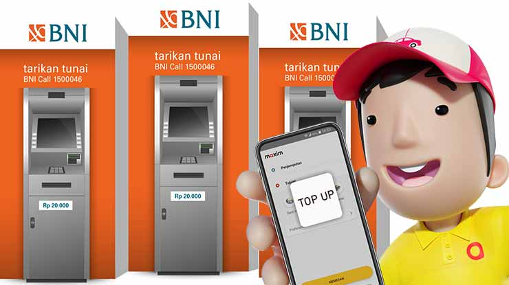 Cara Top Up Saldo Lewat ATM BNI