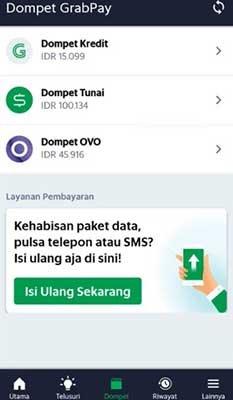 Cara Withdraw Grab ke Dompet OVO