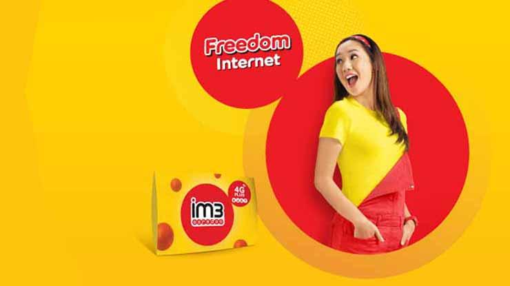 Paket Indosat Freedom Internet 10GB