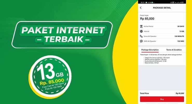 Paket NUJEK80K Telkomsel