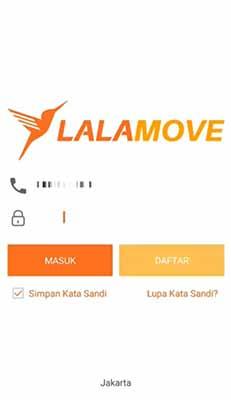 cara daftar lalamove driver motor