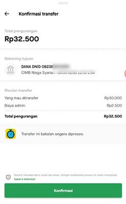 go pay ke dana