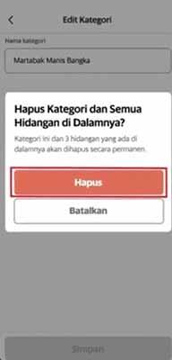 informasi menu