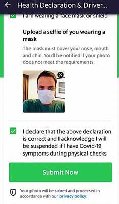 kirim selfie masker