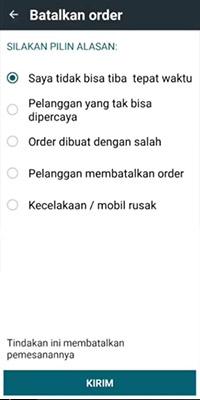 pembatalan order