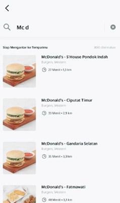 cara pesan grabfood beda restoran