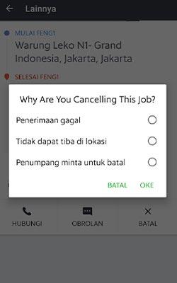 cancel GrabExpress