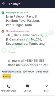 grab express driver