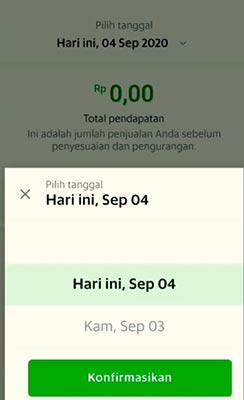 pendapatan harian