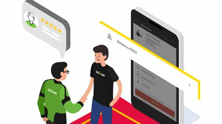 Menggunakan Fitur Ketemu DSU Untuk Driver Gojek