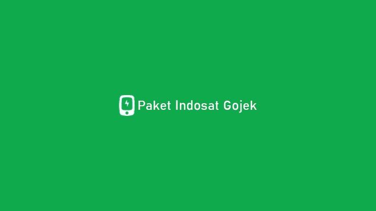 Paket Indosat Gojek