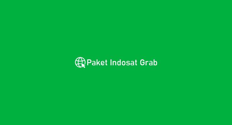 Paket Indosat Grab