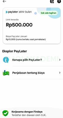 PayLater Gojek