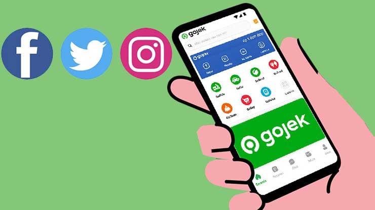 Sosial Media Gojek