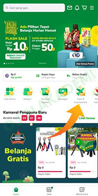 Top Up Saldo Grab Driver via Tokopedia