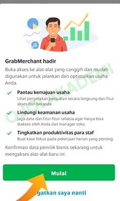 grab merchant login web
