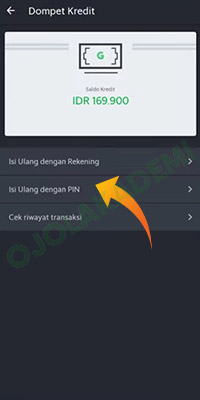 isi saldo Grab driver via Tokopedia