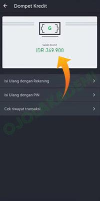 isi ulang saldo Grab driver via Tokopedia