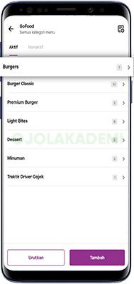 kategori menu