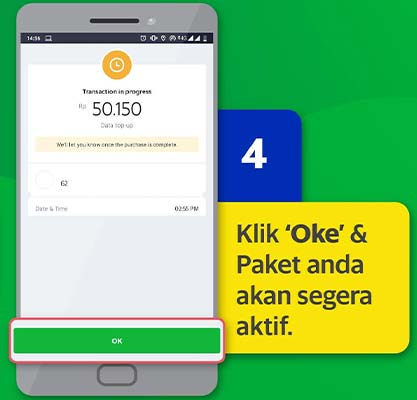 paket internet grab XL