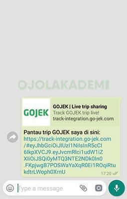 Cara Cek Resi GoSend Online Via SMS