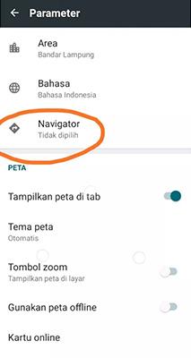 Cara Setting Peta di Maxim Driver