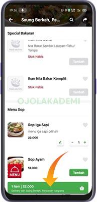cara pesan go food tanpa aplikasi
