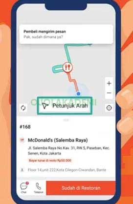 maps Shopee Food