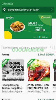 pilih menu