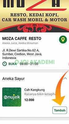 restoran Nujek Food