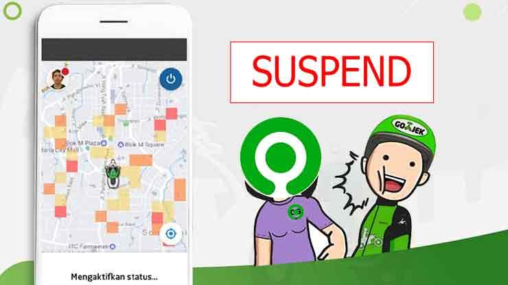 Apa itu Suspend Area Gojek