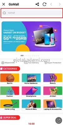 Belanja di Alfamart Pakai PayLater Gojek