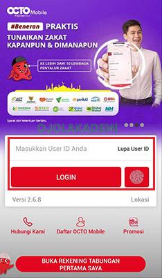 Cek Rekening Ponsel Gojek via OCTO Mobile
