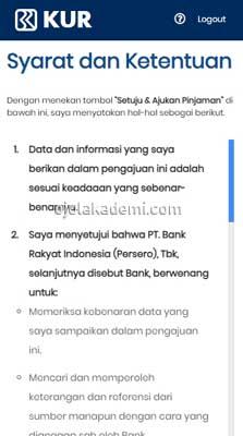Pinjaman E Commerce BRI