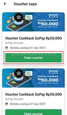Voucher GoPartner Rewards