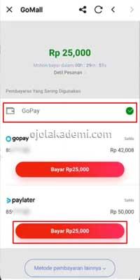 gopay paylater merchant offline