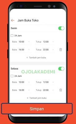 simpan Menggunakan Aplikasi Shopee Food Partner