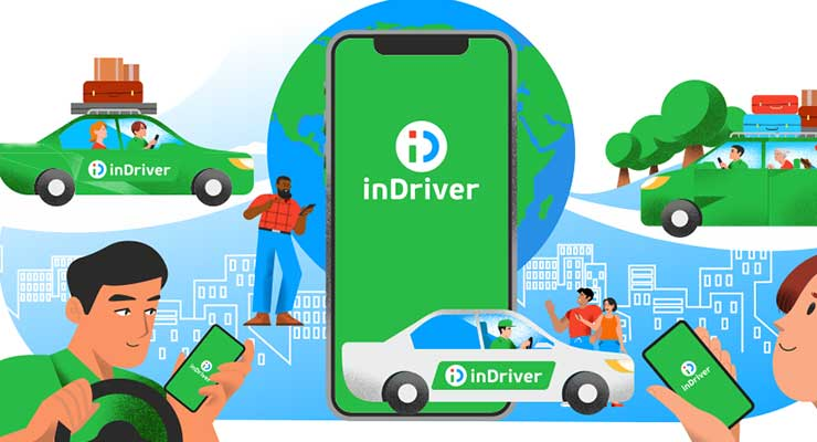 Area Operasional inDriver Mobil